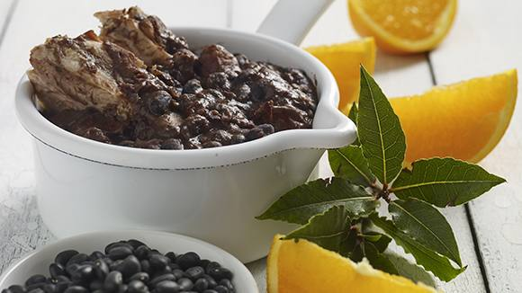 Brazilian Black Bean Stew with Smoked Meats (Feijoada)
