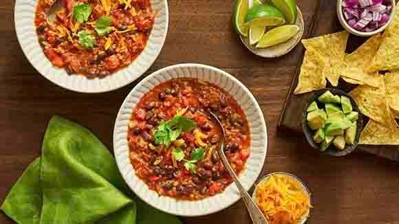 Vegetarian Chipotle Instant Pot Chili
