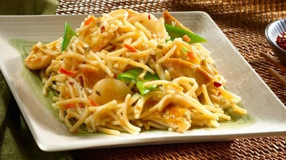 Spicy Ginger Chicken & Vegetables