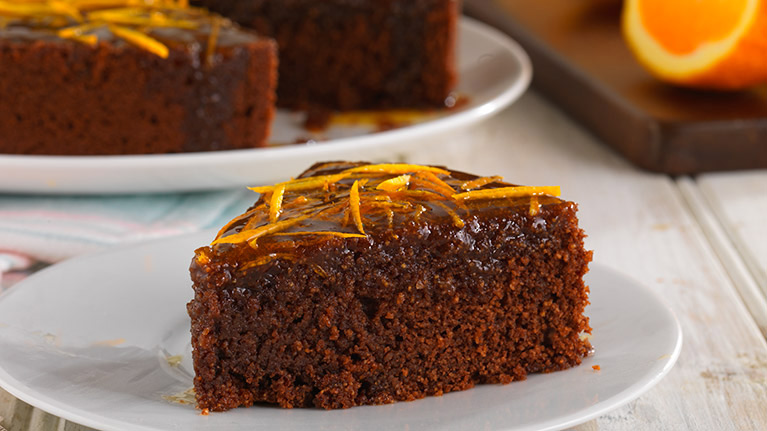 Chocolate Orange and Polenta Cake