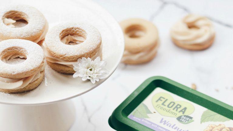 Honey Walnut Sandwich Biscuits by Benjamina