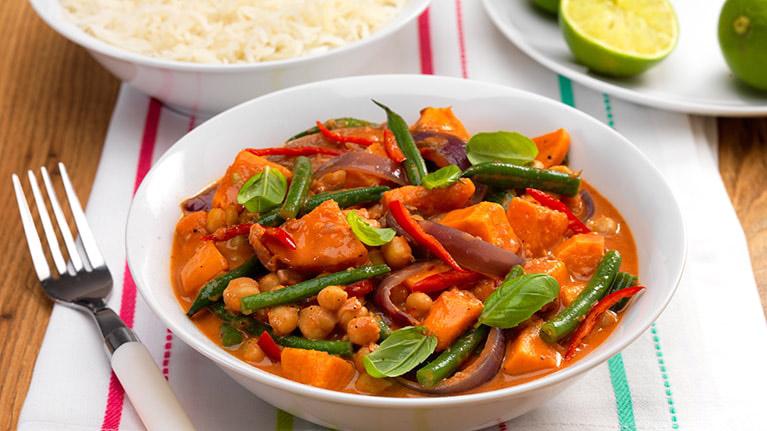 Vegan Thai Vegetable Red Curry
