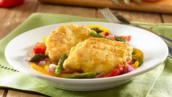 Golden Chicken & Vegetable Saute