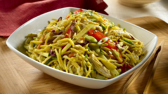 Curried Asian Noodle Salad