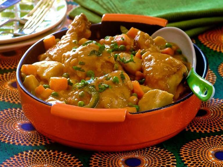 Vegetable & Chicken Stew with Amadumbe