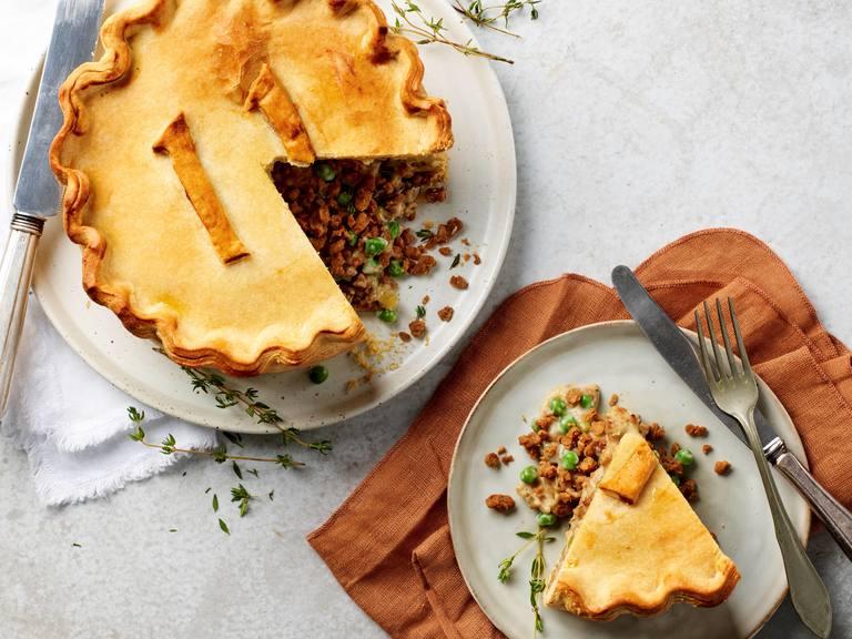 Vegan hartige taart met Rul Gehackt