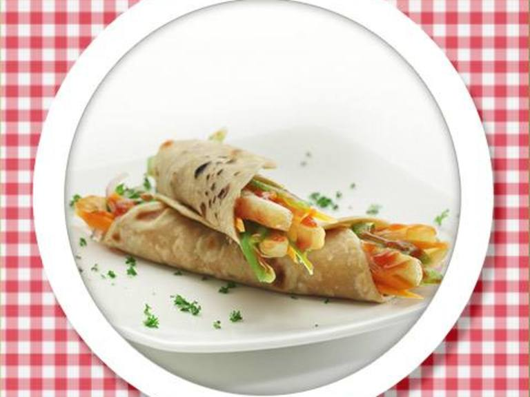 French Fry & Cheese Wrap