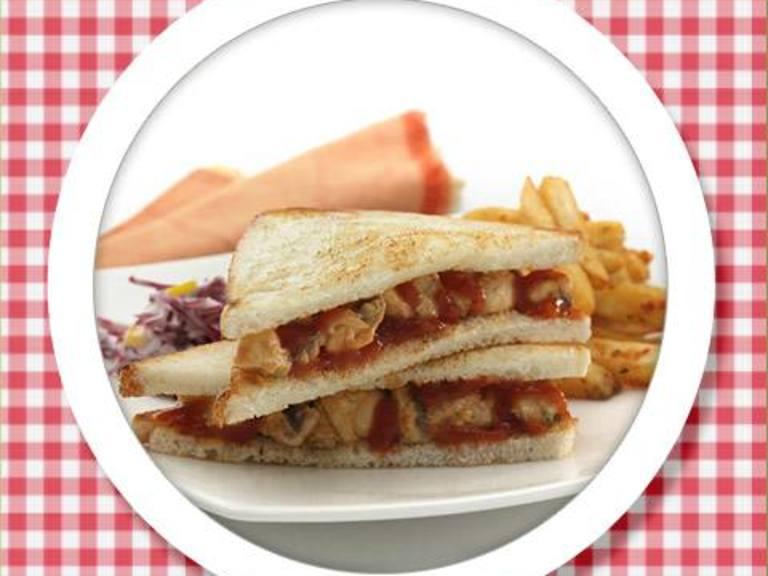Spicy Potato Mexican Sandwich