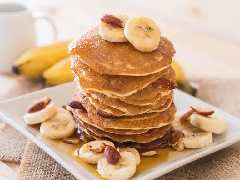 Whole Wheat & Oats Peanut Butter Pancake