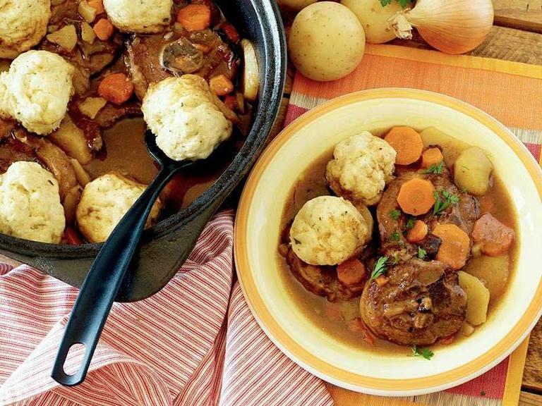 Lamb Neck Dumpling Dish