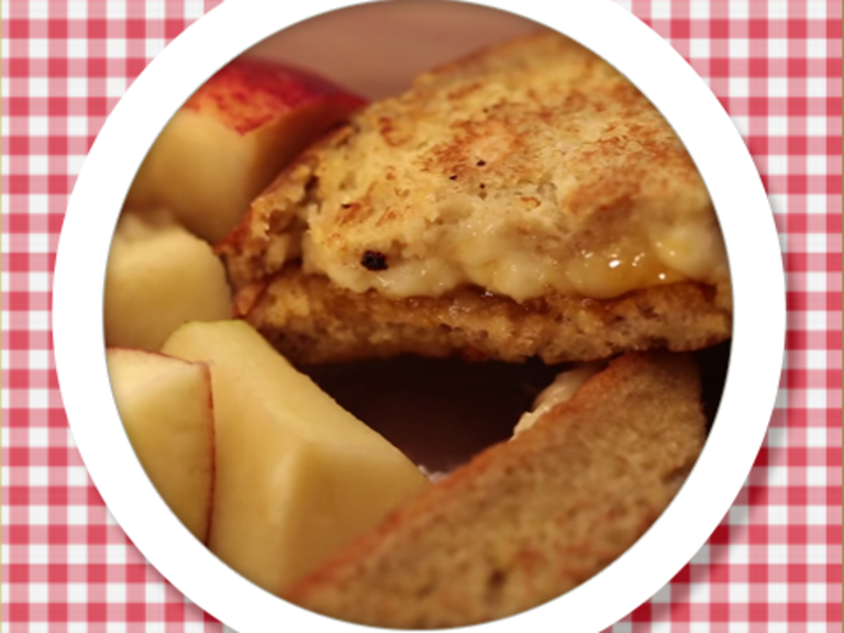 Cheese & Jam French Toast