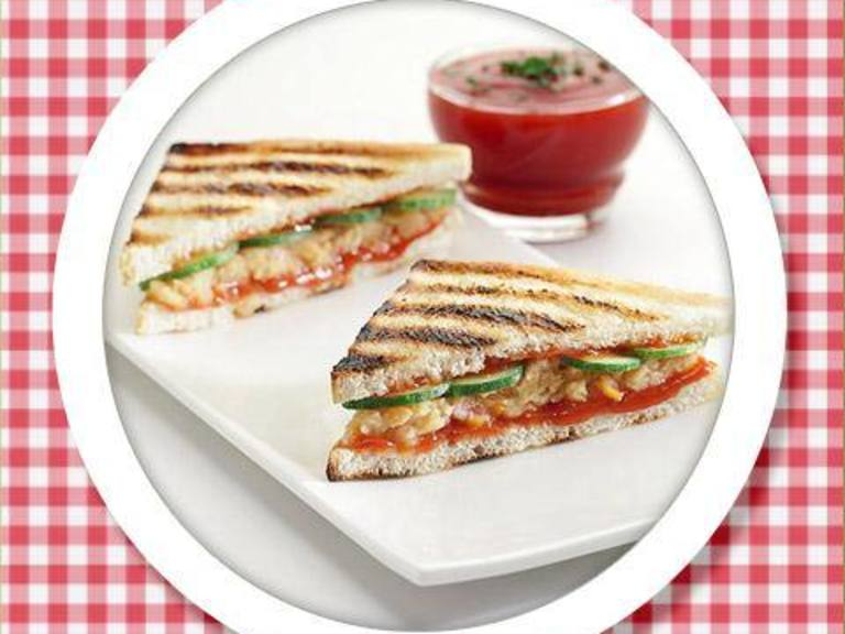 Vegetable Toasties