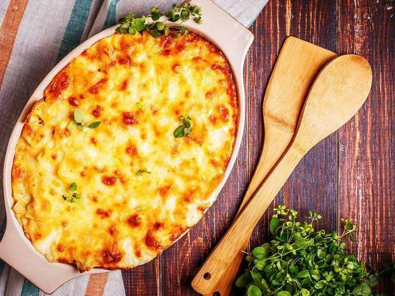 Spicy Pilchard Macaroni Bake
