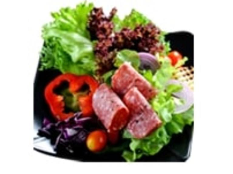Pastrami and Sausage Salad