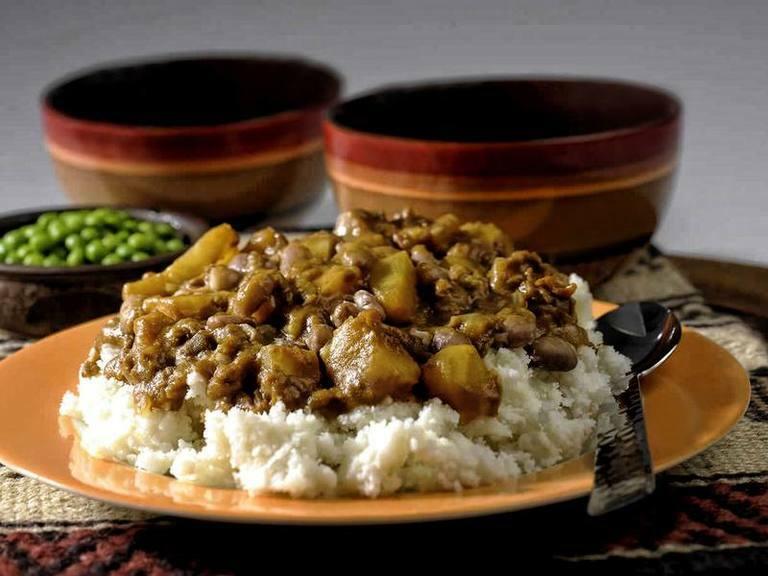 Sweet Potato Sugar Bean Stew