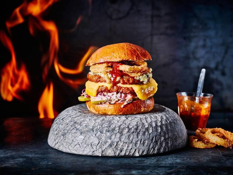 Oozy Woozy Double Cheeseburger