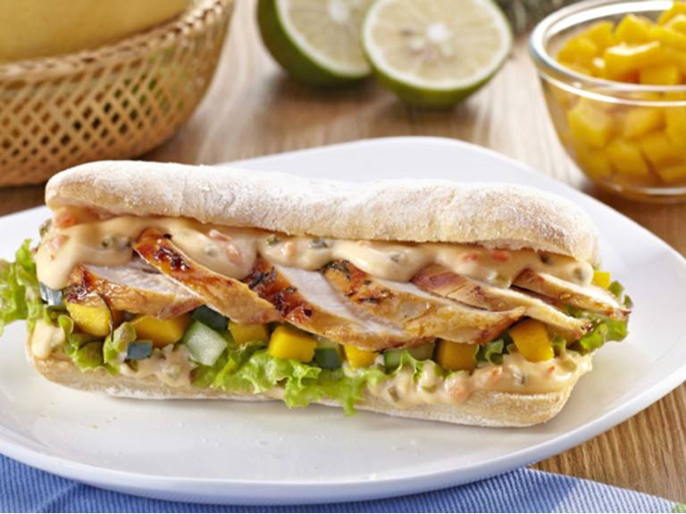 Honey Lime Chicken Sandwich