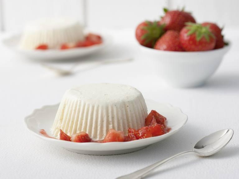 Erdbeer-Eistörtchen