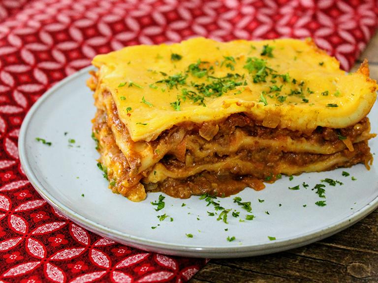 Knorrox Soya Mince Lasagne