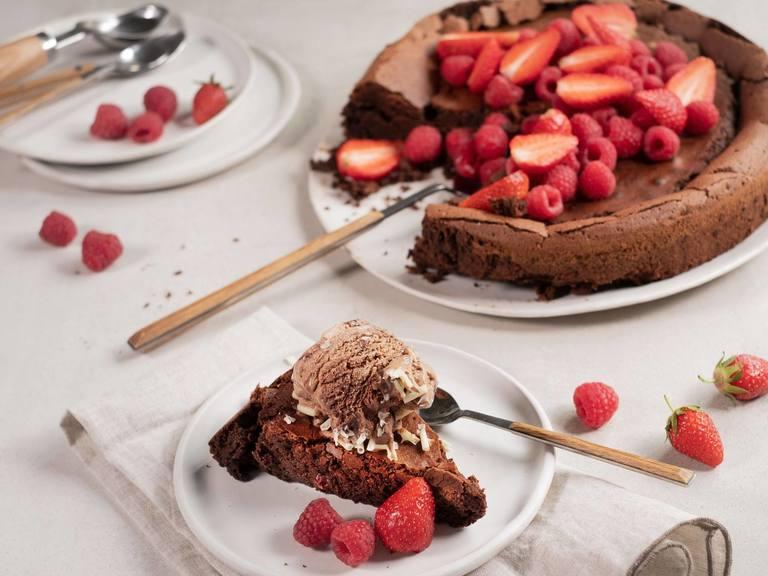 Schoko-Kuchen ohne Mehl