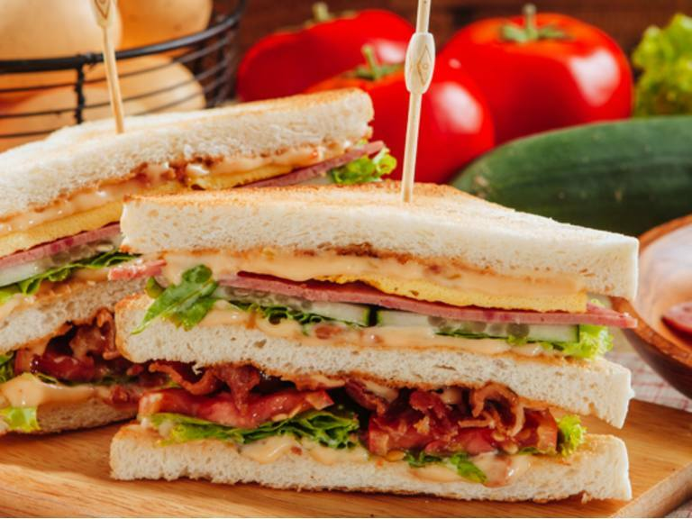 Meaty Clubhouse Sandwich| Lady's Choice