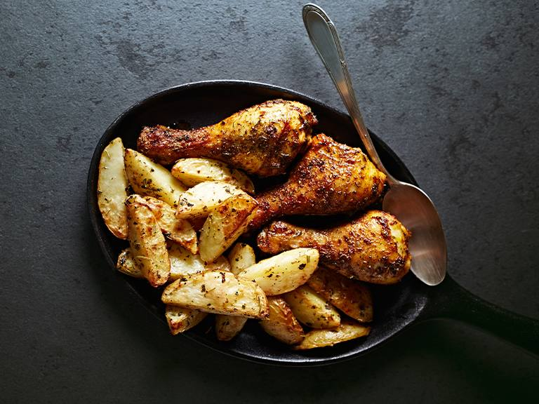 Mom's Roasted Chicken Pieces