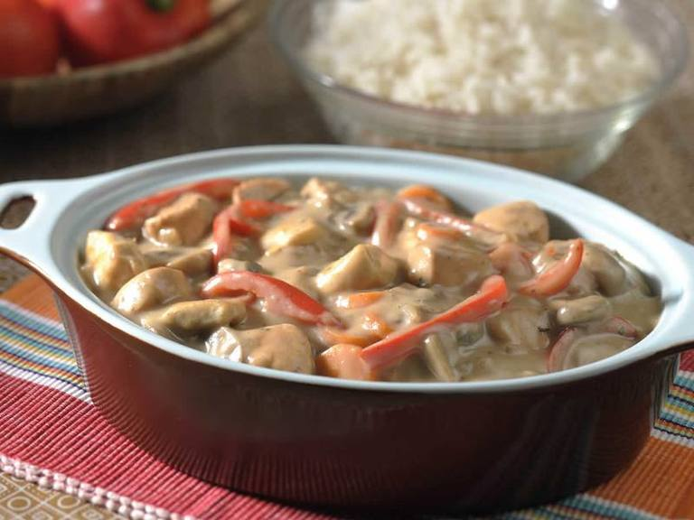 Creamy Chicken & Red Pepper Sishebo
