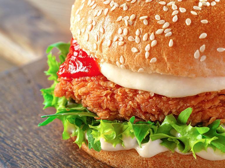 Crispy Chicken Burger Lady S Choice