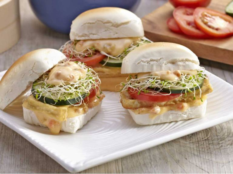 Asian Tofu Sandwich