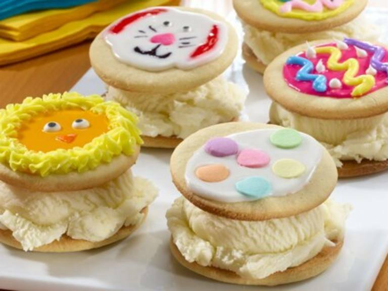 Festive Ice Cream Sandwiches