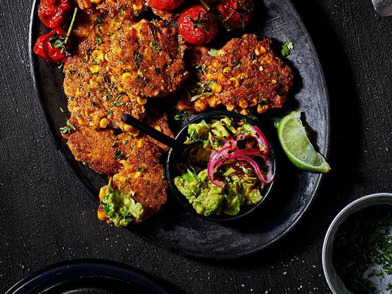 Pap And Corn Fritters