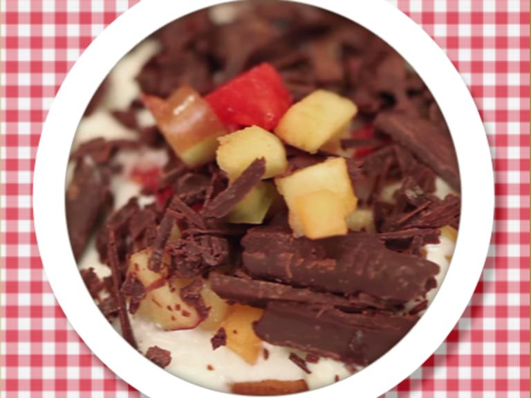 Quick Fruit Trifle