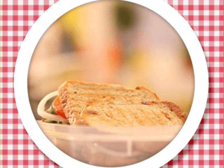 Chatpata Potato Sandwich