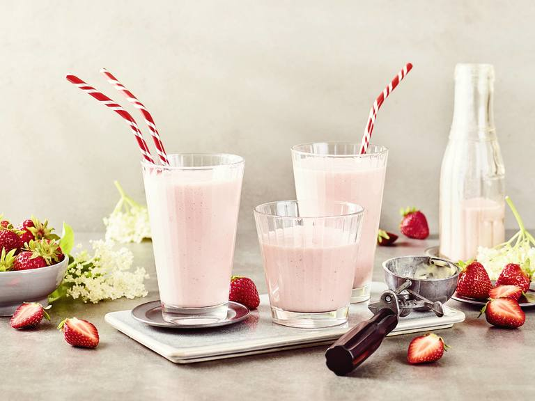 Cremissimo Erdbeer Milchshake
