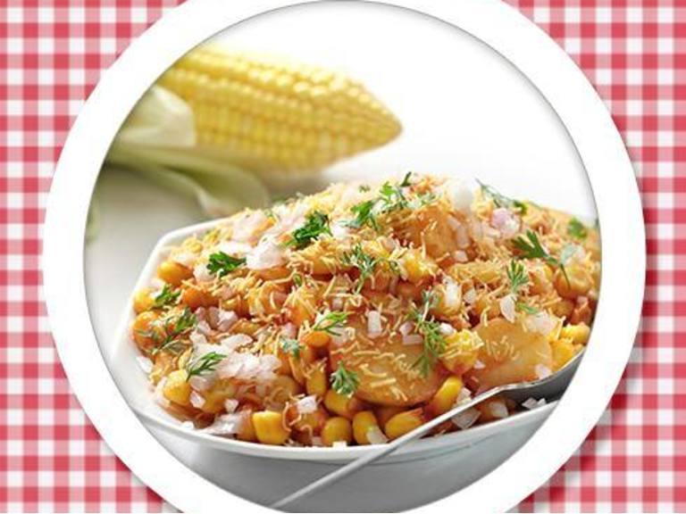 Sweet & Spicy Corn Bhel