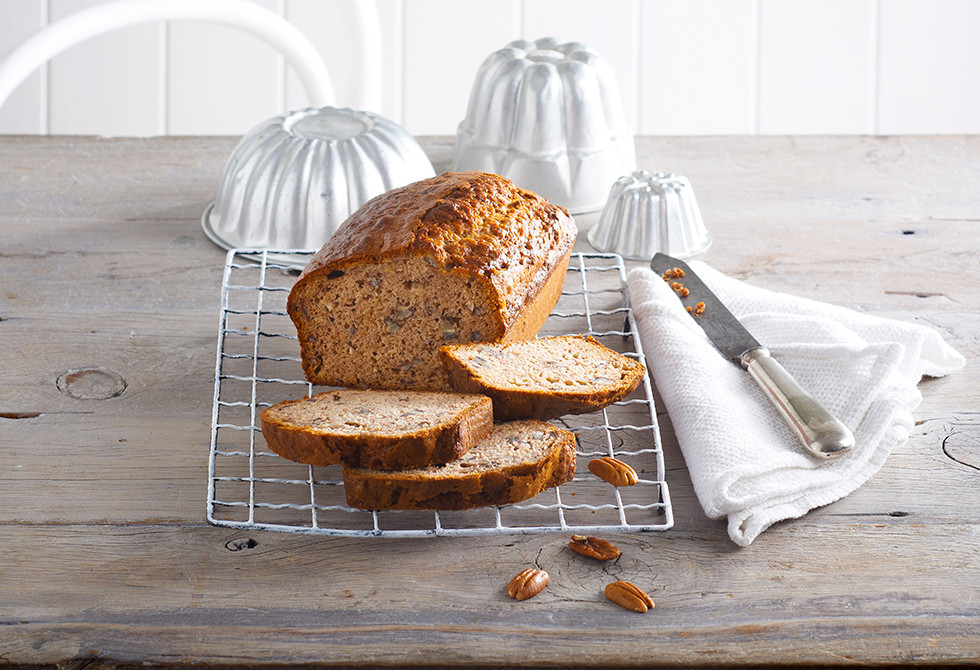 Spiced banana loaf