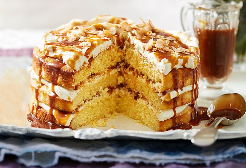 how to make caramel cake