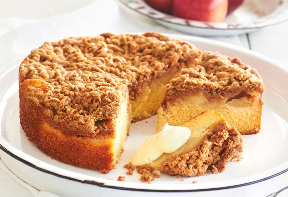 Apple Streusel Coffee Cake Recipe