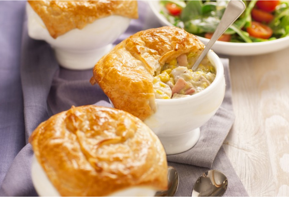 Cheat S Chicken Bacon Leek Pies