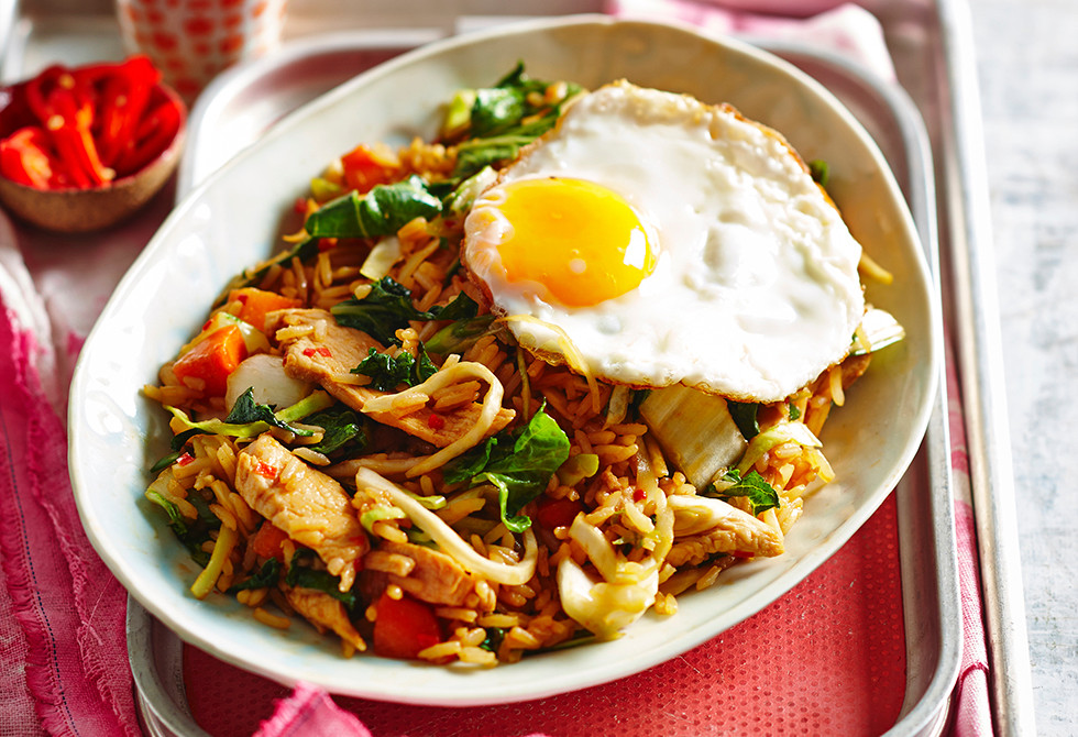 Chicken Nasi Goreng Recipe Foodiful