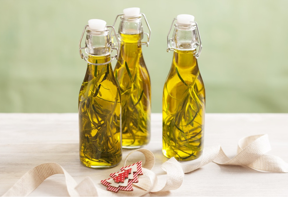 Rosemary infused olive oil recipe foodiful for Frying fish in olive oil