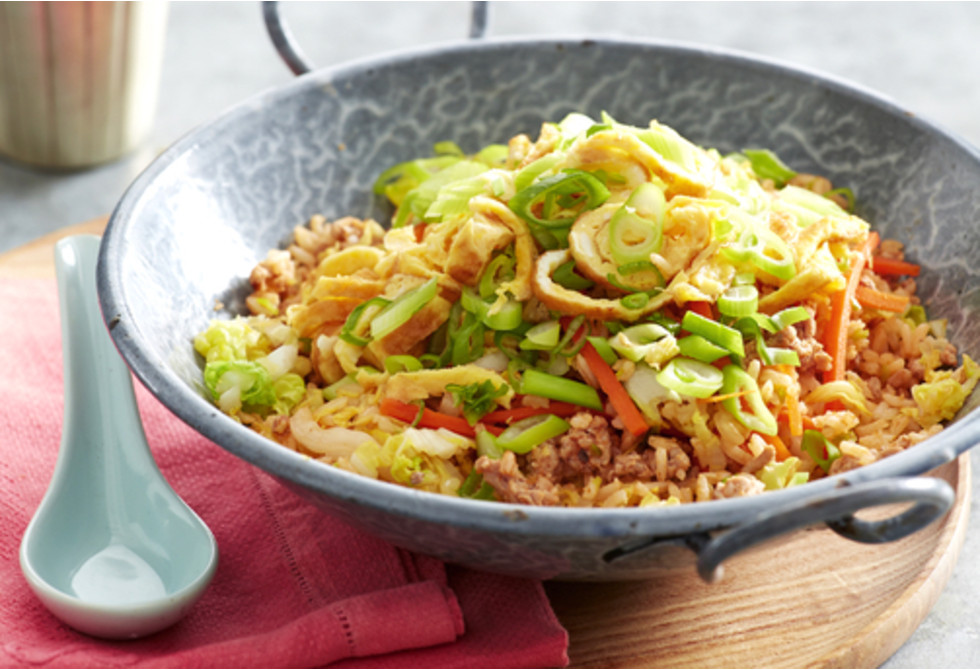 Indonesian brown fried rice
