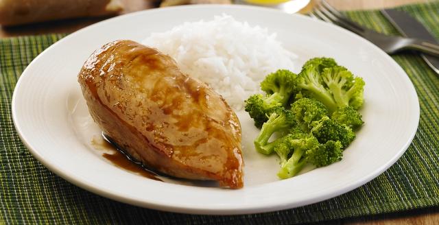 File de frango grelhado