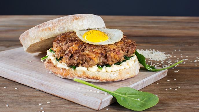 Hambúrguer de picanha e alheira