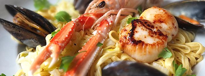 Elizabeth's Seafood Linguine