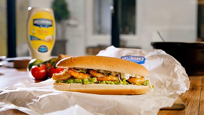 Gambas Burger