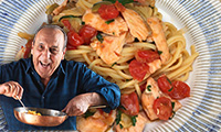 Linguine with Fresh Salmon by Gennaro