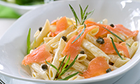 Salmon and Pasta