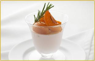 Panna cota aux abricots