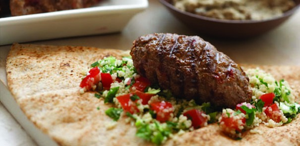 Lamb Koftas with Couscous Tabouli Recipe